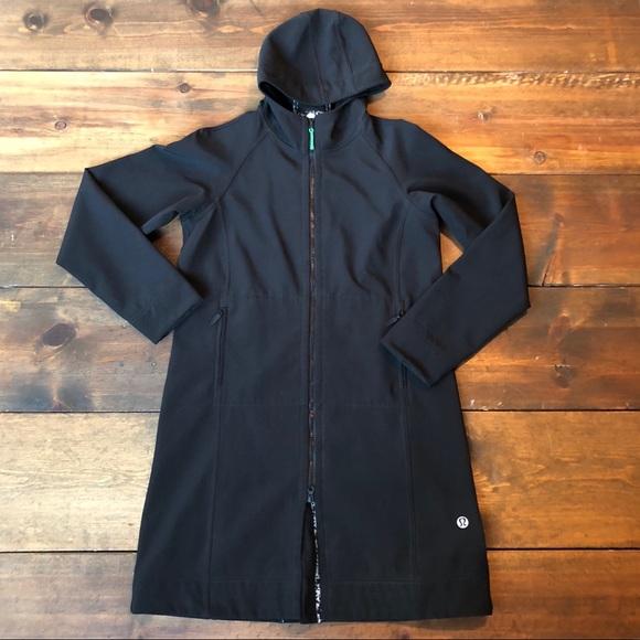 37c684b1bc lululemon athletica Jackets & Blazers - Lululemon Everyday Apres Yoga Rain Jacket  Coat EUC